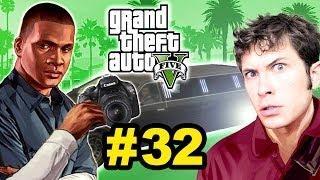 Grand Theft Auto V - PAPARAZZI LIMO CHASE - Part 32