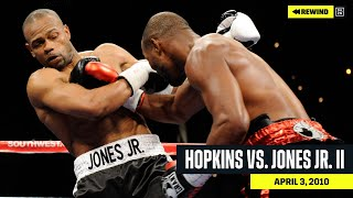 FULL FIGHT | Bernard Hopkins vs. Roy Jones Jr II (DAZN REWIND)