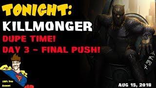FINAL PUSH Killmonger DUPE! Marvel Contest of Champions