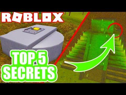 TOP 5 *SECRET* EASTER EGGS in ROBLOX Vehicle Simulator!
