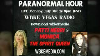 Famous Patti Negri Psychic Medium with Monica Spirit Queen on Radio | Part Two