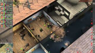 Jagged Alliance: Back in Action - Attack on Army Barracks (Gameplay)