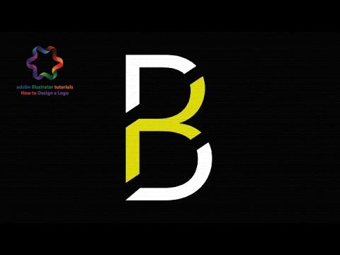 adobe illustrator tutorial - simple letter logo design - create professional logo design