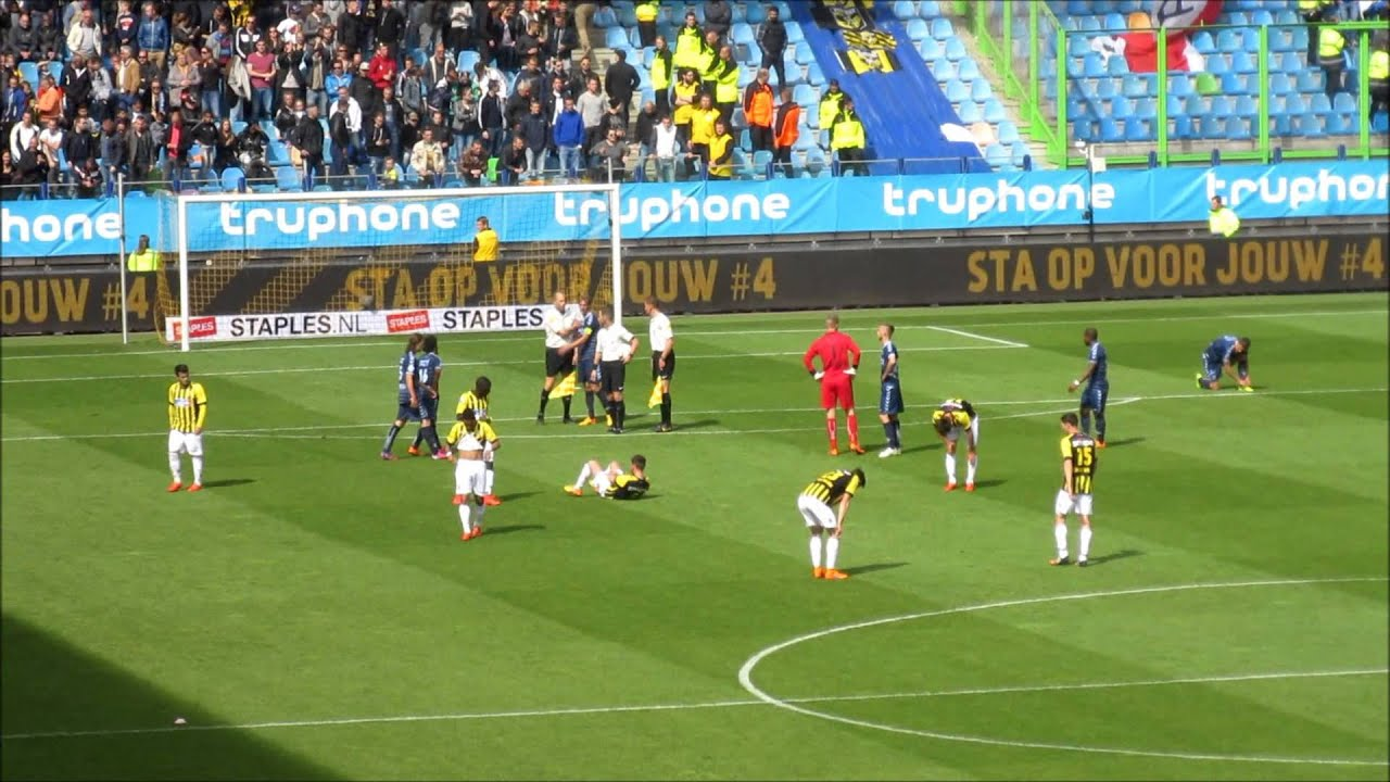 Vitesse - FC Utrecht 3-3 (May 17, 2015) - YouTube