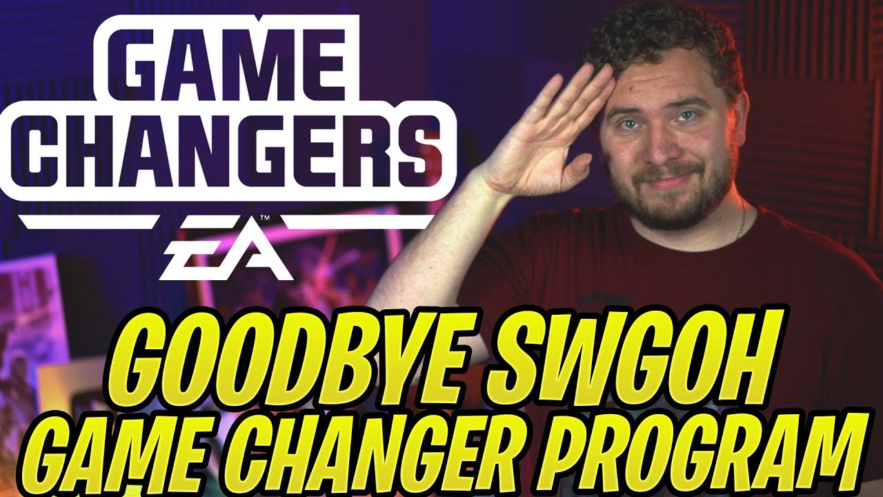 I've Been Kicked Out of the Game Changer Program for SWGoH… Thank You For 100k Subscribers!