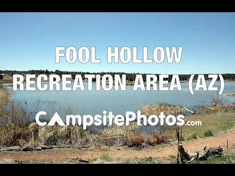 Fool Hollow Lake Recreation Area Show Low Arizona