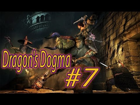★Dragon's Dogma Dark Arisen★ ведьмин лес #7Серия