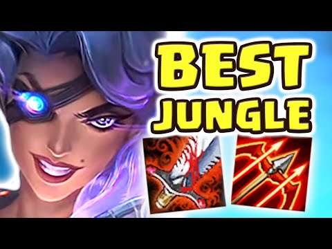 NEW SAMIRA IN THE JUNGLE (35 kilIs) | MOST BROKEN CHAMP EVER & 1v5 BUILD | THIS HAS NO COUNTERPLAY!