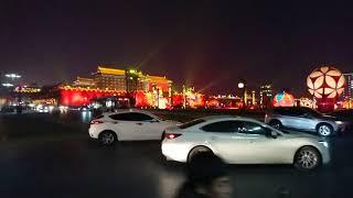 【中国・西安】永寧門(西安城墙新春灯会 Xi'an City Wall Lantern Festival) / 2019年 中国高速鉄道3,927kmの旅