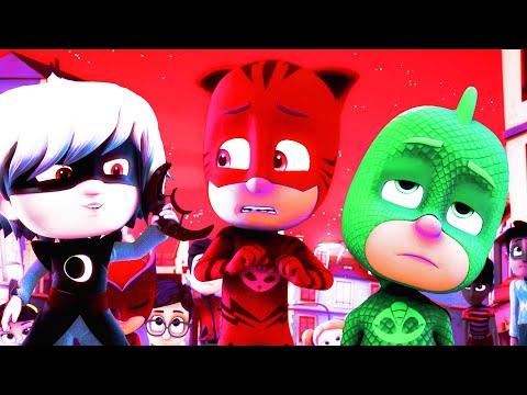 PJ Masks Funny Colors - RED CATBOY!!!!! - Kids Videos
