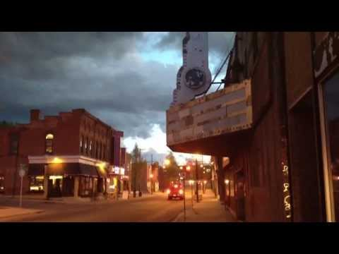 Pembroke Ontario After Sunset  May 9th 2013 With George Gershwin Music.
