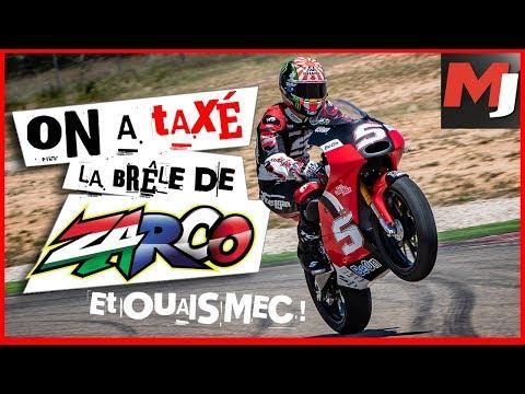 JOHANN ZARCO Nous Fait Tester Sa Moto D'entrainement - MOTO JOURNAL - English SUBS