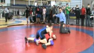 63 KG Western Canada Age Class Wrestling (2011 Parker Kish)