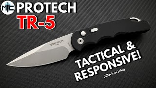 Pro Tech TR - 5 Automatic Knife - Overview and Review