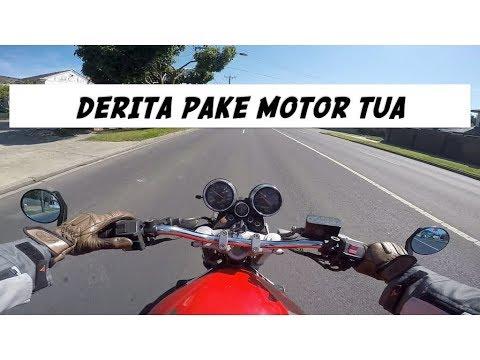 Suka Duka Pake Motor Tua - Suzuki Bandit 250 #motovlog 169