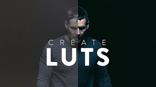 Create Custom LUTs in Premeire! (And Other Programs)