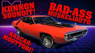 KOEAJOSSA - PLYMOUTH ROAD RUNNER 340ci V8 -72 (4K)