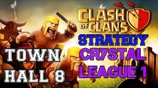 Clash of Clans: Town Hall 8 at Crystal 1 and Defenses STILL Holding Strong! Next Up: Masters!