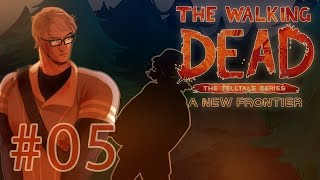 The Walking Dead: A New Frontier - Ties That Bind (Part 1) Part 5 - Hanging on Cliffs