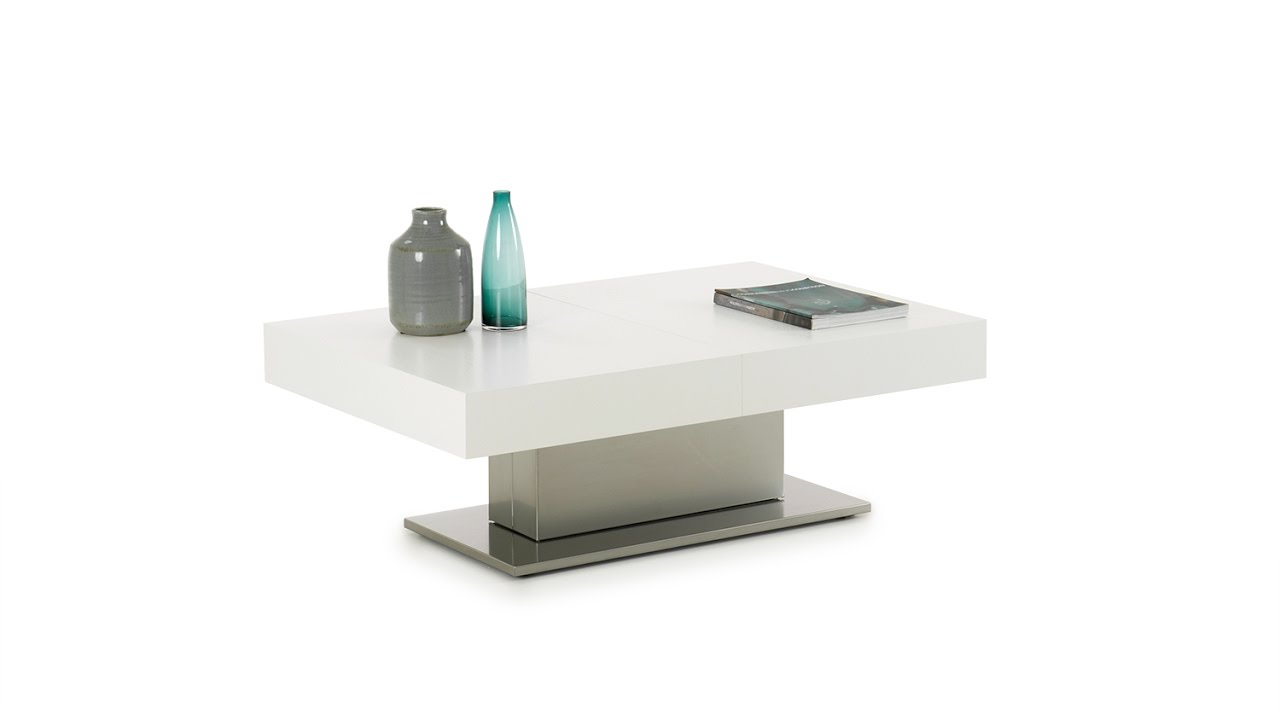Hunter Transformable Coffee Table With Adjustable Top