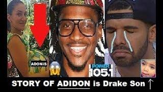 Pusha T Story of Adidon is Named after Drake Secret SON he set him up