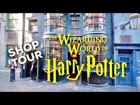 HARRY POTTER SHOP TOUR: Ollivander's Wand Shop   WIZARDING WORLD UNIVERSAL ORLANDO
