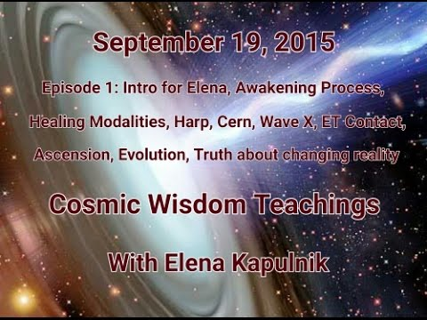 Cosmic Wisdom Teachings Episode 1