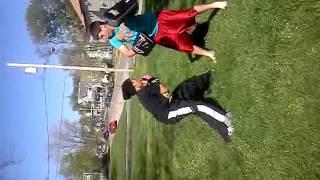 Angel La Grandier special kick