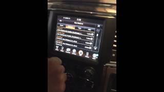 Finding closest gas station and prices on a 2015 Ram navigation system