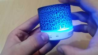 A9 Mini Bluetooth Speaker Review -GearBest.com