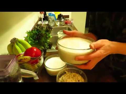 Сыроедение. Соевое молоко в домашних условиях.