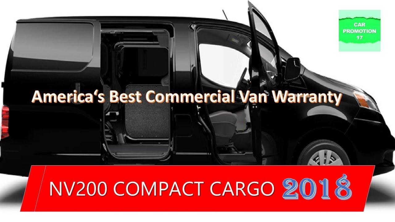 2018 NV200 COMPACT CARGO -  America's Best Commercial Van Warranty