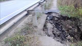 Участок дорога Кинешма-Юрьевец может рухнуть