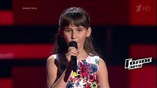 Елизавета Куклишина «Padam, Padam» - Слепые прослушивания - Голос.Дети - Сезон 4