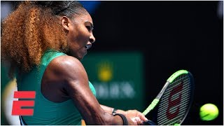 Serena Williams dominates first-round matchup | 2019 Australian Open Highlights Video