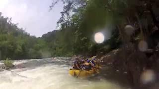 white water rafting the ocoee river