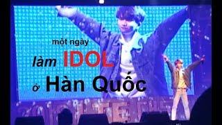 Một ngày làm ca sĩ ở Hàn Quốc - Being a Kpop star in Korea in one day - AOA Jimin - Puss, PSY- DADDY