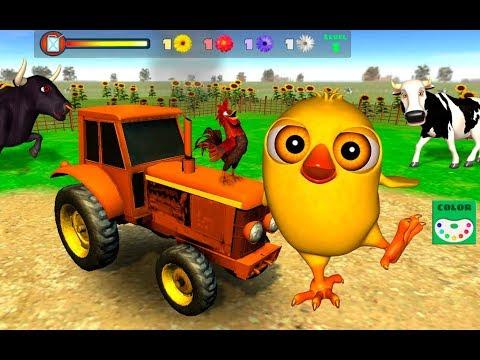 Juego del Pollito y el Tractor de Canciones de la Granja (Actualizaci�n)