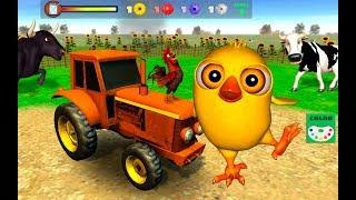 Juego del Pollito y el Tractor de Canciones de la Granja (Actualización)