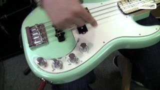 Fender Precision Bass Special Fsr Maple Neck Sea Foam Metallic
