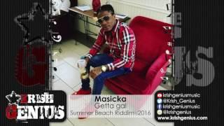 Masicka - Getta Gal [Summer Beach Riddim] July 2016