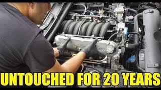 I Restored The ORIGINAL Corvette LS1 Engine After The Car Sat Outside For 8 Years! DIY Engine Detail