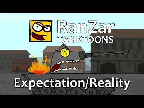 Tanktoon: Expectation/Reality. RanZar