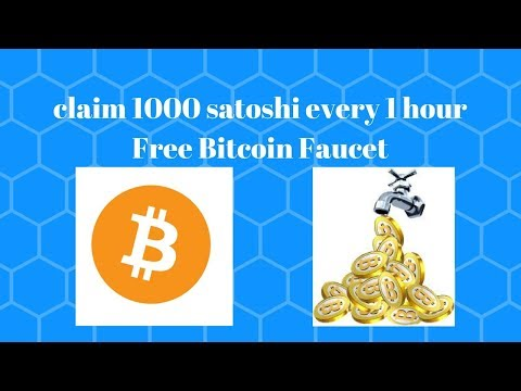 Claim 1200 Satoshi Every 1 Hour | Free Bitcoin Faucet