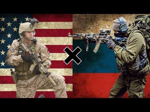 EUA X Rússia - Comparação Militar