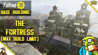 Fallout 76 base building - The Fortress (Fallout 76 Max build Budget Base)