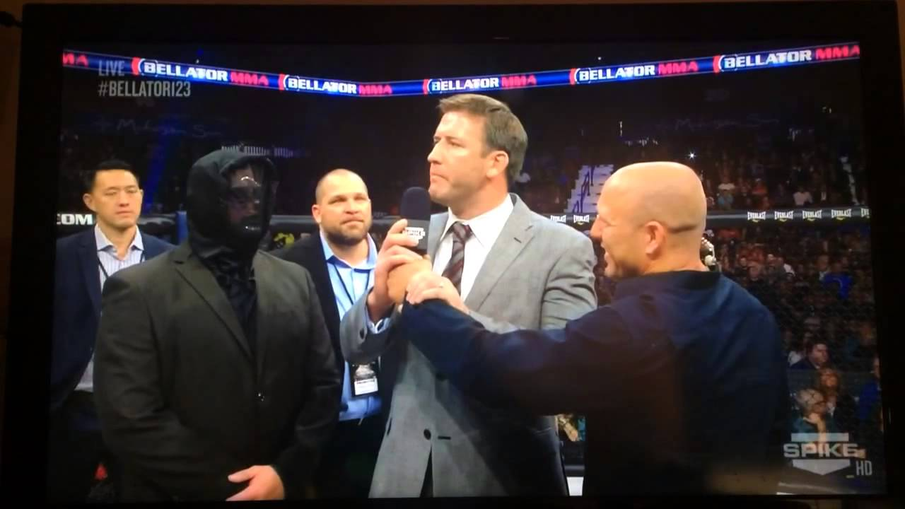 Just what in the hell was Justin McCully doing in that mask