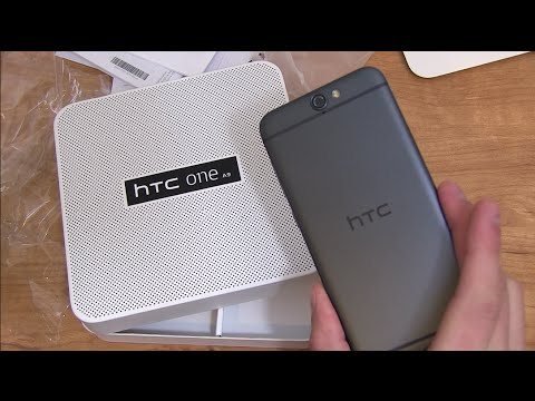 HTC One A9 Unboxing and Impressions