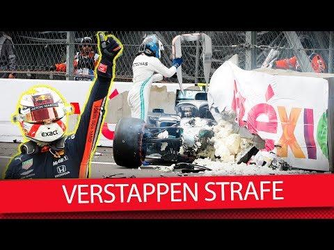 Strafe für Verstappen berechtigt? - Formel 1 2019 (VLOG)