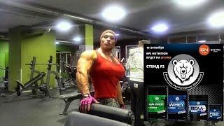 Наталия Трухина приседание в Смите 210 кг на количество раз